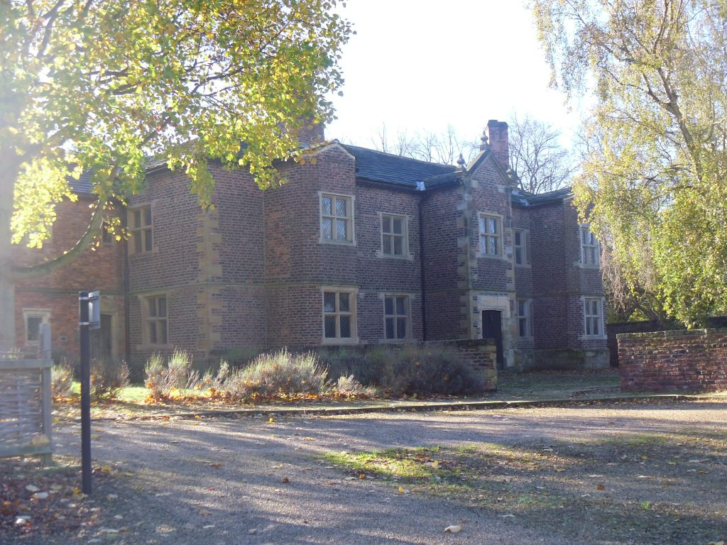 Front view of Clarke Hall