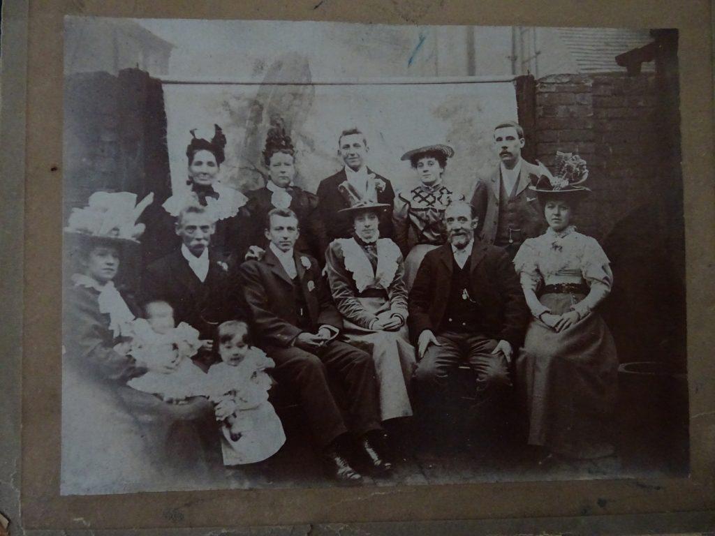 Edwardian family photo