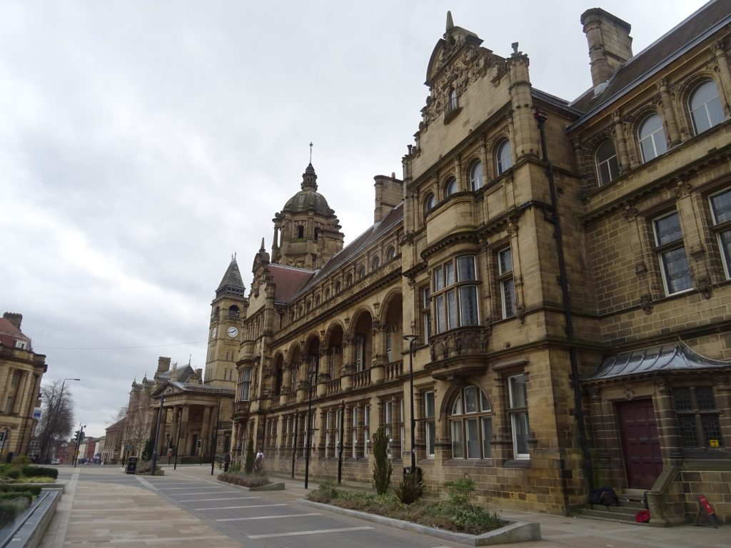 Historic buildings in Wakefield city centre